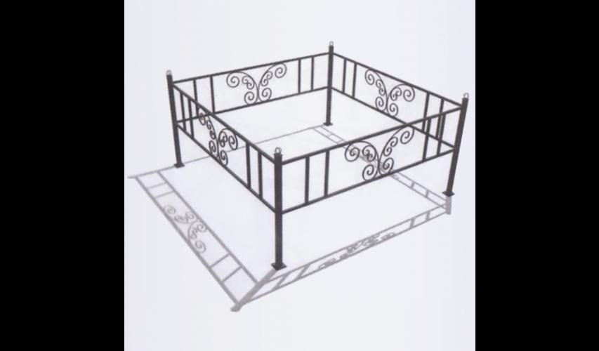 Ограда №15  цена 800 руб./ п.м