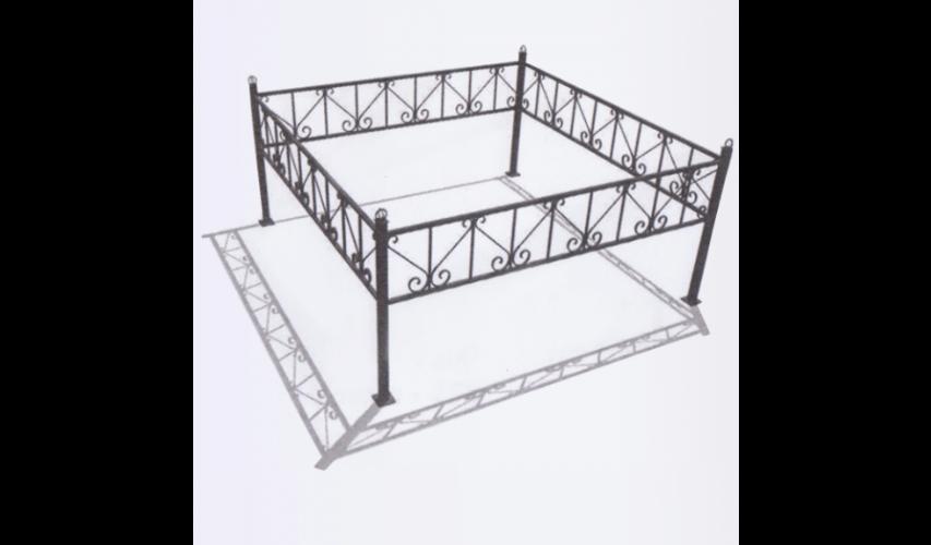 Ограда №18  цена 1200 руб./ п.м