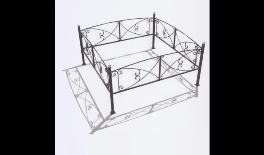 Ограда №19  цена 1000 руб./ п.м