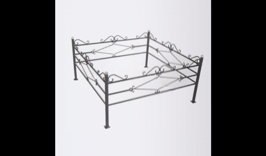 Ограда №2  цена 850 руб./ п.м