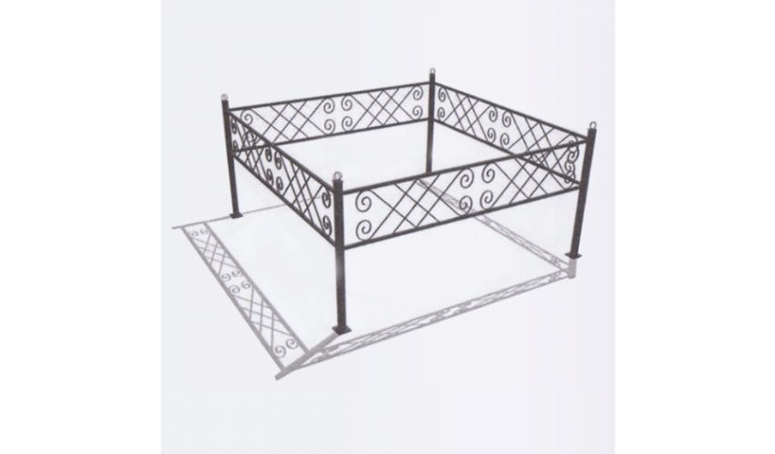 Ограда №20  цена 1100 руб./ п.м