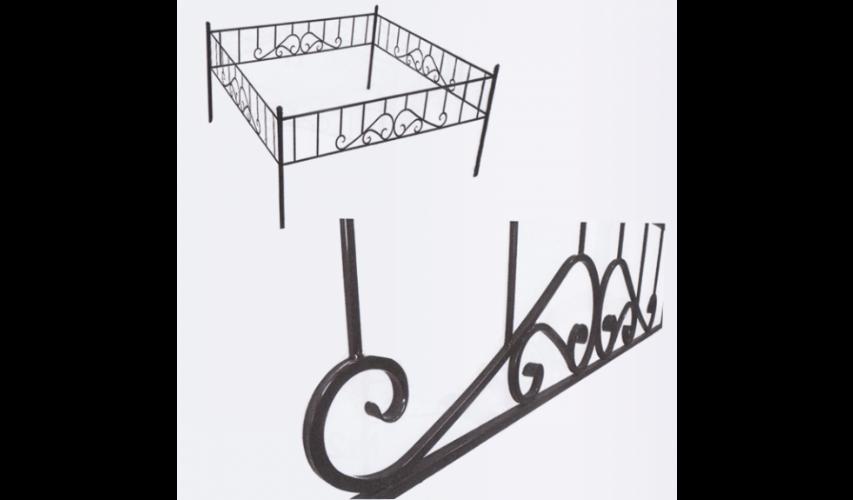 Ограда №23  цена 1400 руб./ п.м