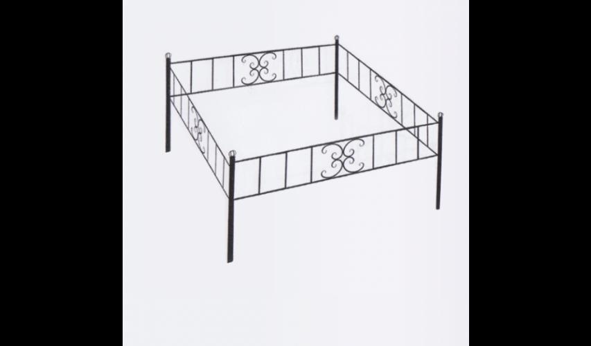 Ограда №29  цена 800 руб./ п.м