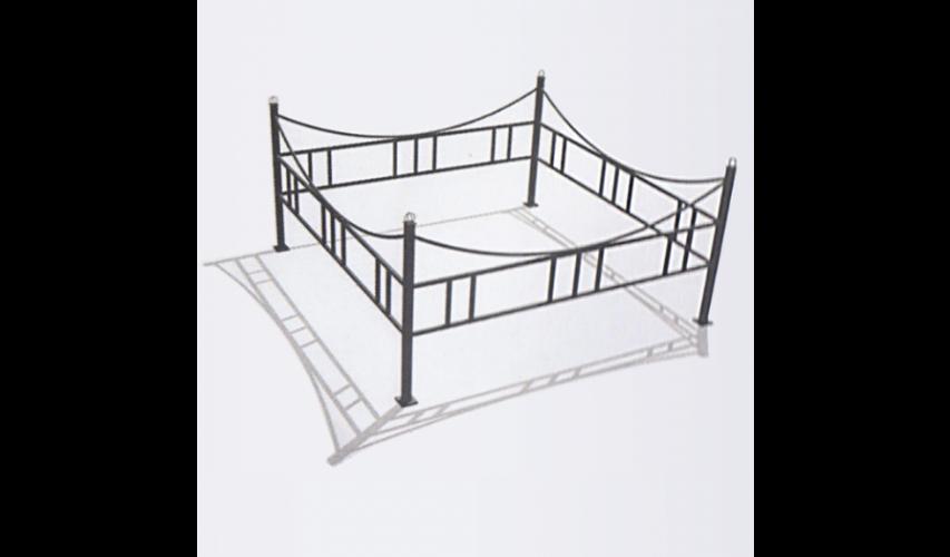 Ограда №3  цена 800 руб./ п.м