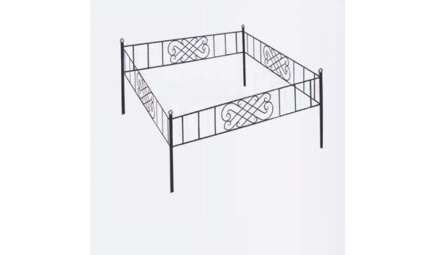 Ограда №31  цена 900 руб./ п.м