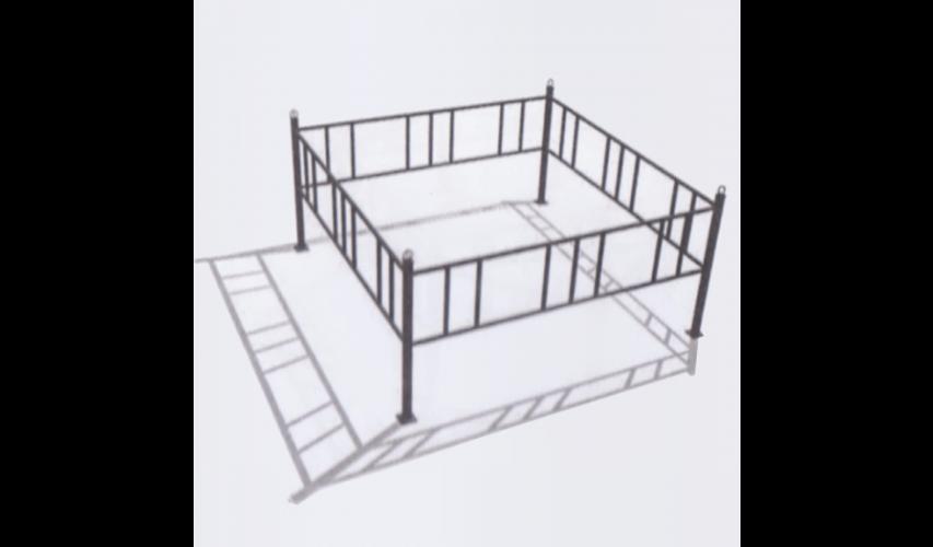 Ограда №6  цена 800 руб./ п.м