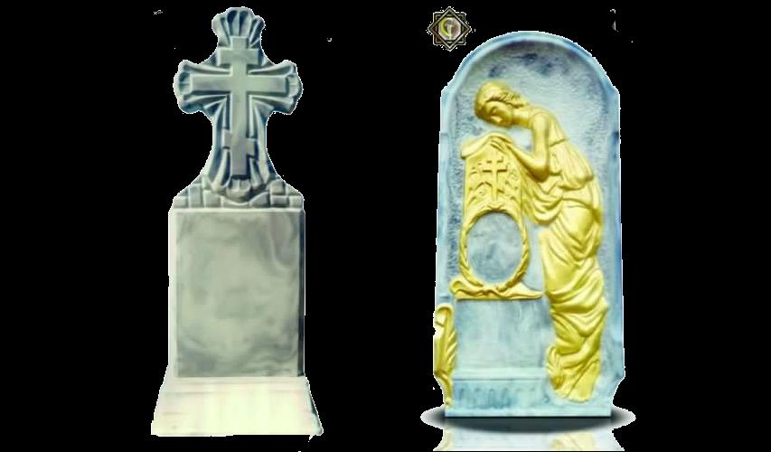 Бетонные памятники